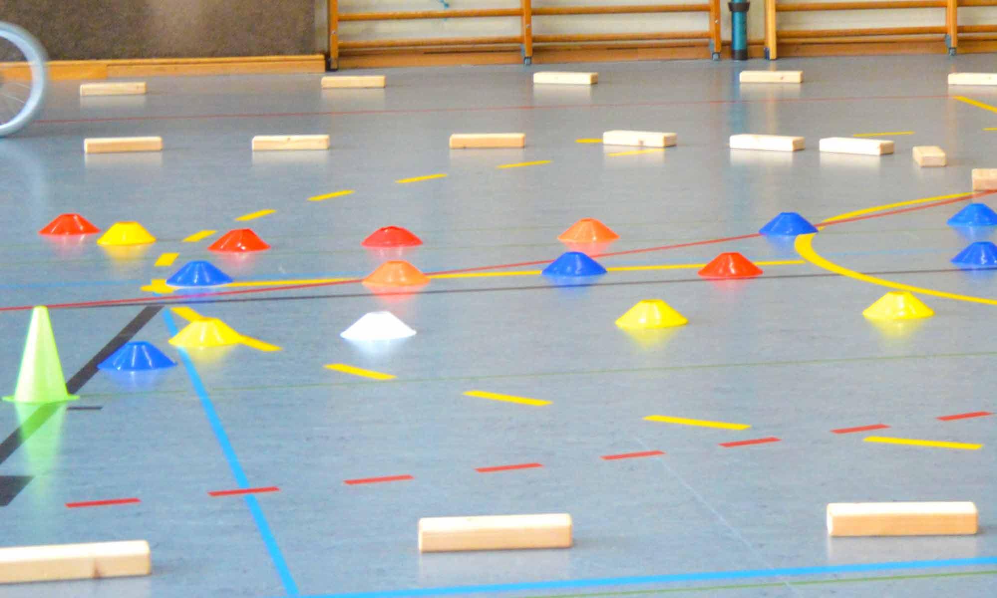 Grundschule Nussberg Radfahr-Parcours